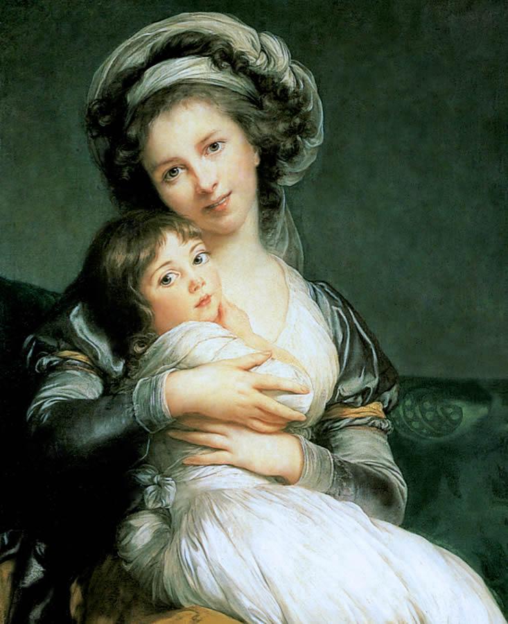 Madame Vigée Le Brun et sa fille,  Jeanne Marie-Louise