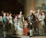 La famille de Charles IV, 1800