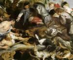 Chasse au sanglier, 1617