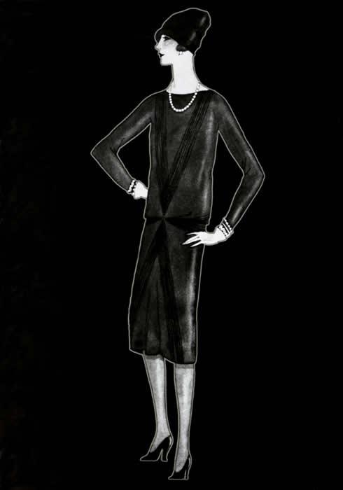 La petit robe noire coco chanel
