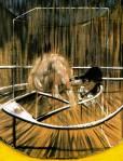 Francis Bacon, Etude nu accroupi, 1952