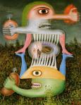 Brauner, Totem de la subjectivité blessée, 1948