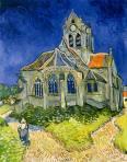 Van Gogh, L'église d'Auvers-sur-Oise, 1890