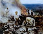 Järnefelt, Débroussaillage par le feu, 1893