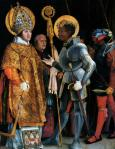 Saint Érasme et Saint Maurice, 1523