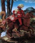 Le chevalier, la jeune fille et la mort, 1520