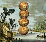 Atalante, 1618, Les 4 feux