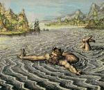 Le soleil rouge, 1618, Le roi se noie