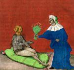 Aurora consurgens, 1410, Le don des herbes