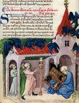 Aurora consurgens, 1410, Découverte de la table d'émeraude