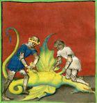 Aurora consurgens, 1410, La mort du dragon