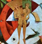 Marc Chagall, Hommage à Apollinaire, 1911