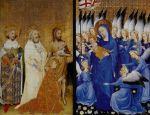 Diptyque de Wilton, 1399, bleu outremer