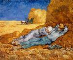 Van Gogh, La sieste, 1889