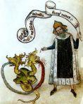Livre de la sainte Trinité, 1417, Le dragon à deux têtes