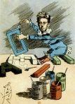 Manuel Luque, Rimbaud, les voyelles, 1888