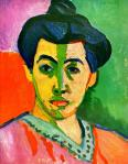 Matisse, Portrait à la raie verte, 1905