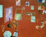 Matisse, L'atelier rouge, 1911