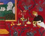 Matisse, La desserte, harmonie en rouge, 1908