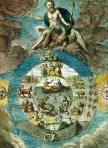 Mutus Liber, 1677, Jupiter transperce la nuit saturnienne