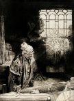 Rembrandt, l'alchimiste, 1652