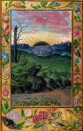 Splendor solis, 1520, Le soleil noir