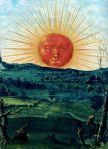 Splendor solis, 1520, Le soleil rouge