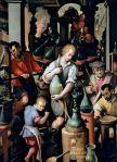 Jan van der Straet, Laboratoire de l'alchimiste, 1570