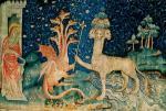 Apocalypse, Saint Jean et la bête de mer, 1380