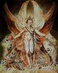 William Blake, Satan dans sa gloire, 1805