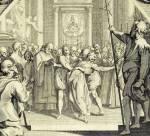 Jacques Callot, L'exorcisme, 1615