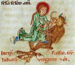 Codex Bodmer, Julien emprisonne un démon, 1190