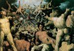 Cornelisz van Haarlem, La chute des titans, 1588