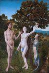 Hugo van Goes, Le péché originel, 1475