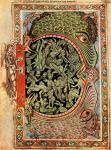 Psautier d'Henry de Blois, L'enfer fermé par un ange, 1140