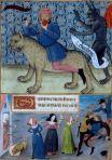 Heures Poitiers, Colère et Léviathan, 1475