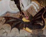 Bernardo Martorell, Saint Georges tuant le dragon, 1435