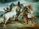 Le marché aux chevaux, 1814