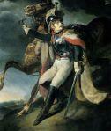 Cuirassier blessé quittant le feu, 1814