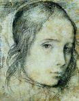 Tête de jeune fille, 1618