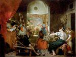 Les fileuses, 1657